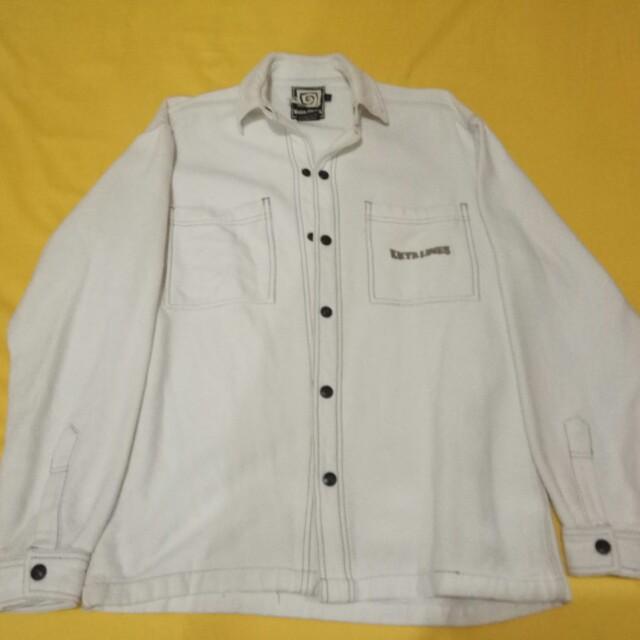 9afefda57 Jaket Putih bahan Tebel jual Murah, Men's Fashion, Men's Clothes ...