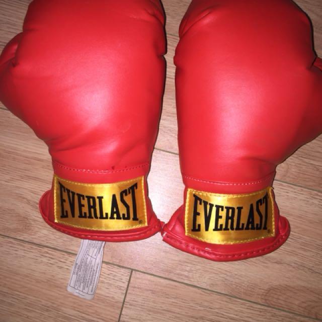 Kids everlast boxing gloves