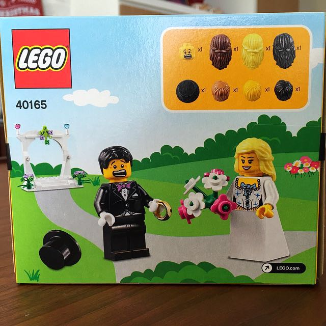 Lego wedding ring bearer, Design & Craft, Others on Carousell