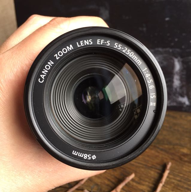 Lesan Canon EFS 55-250