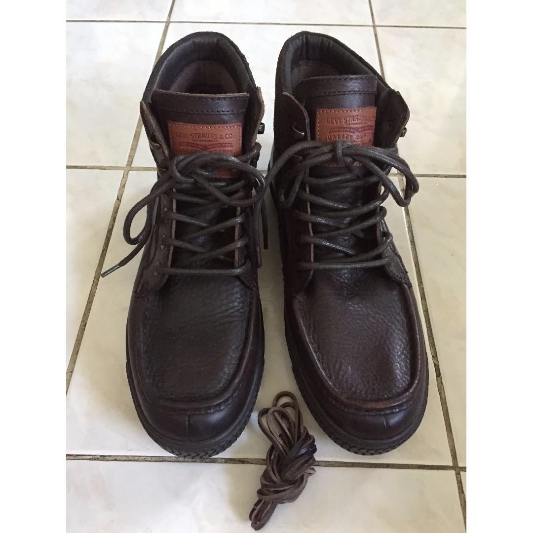 Levis Leather Shoes for Men