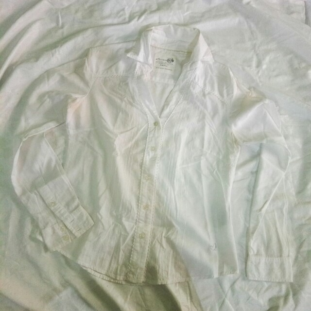 LONG SLEEVES MOSSIMO WHITE