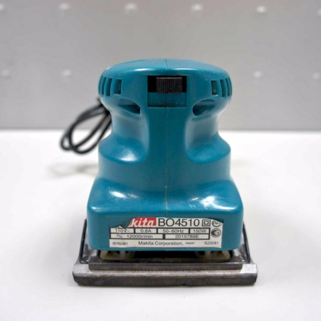 二手砂紙拋光機牧田Makita 拋光機BO4510 (散打~砂紙機)好奇買來使用沒幾次
