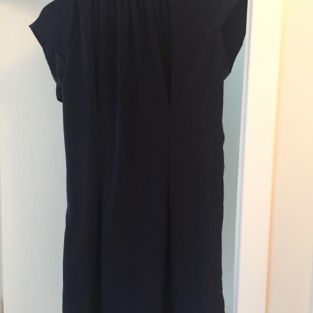 Max Navy Blue Dress