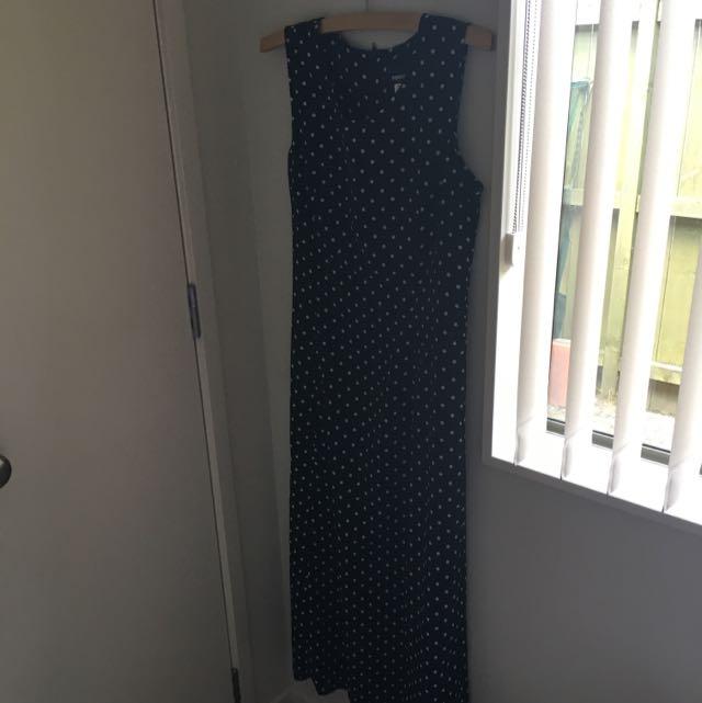 Maxi Polkadot dress