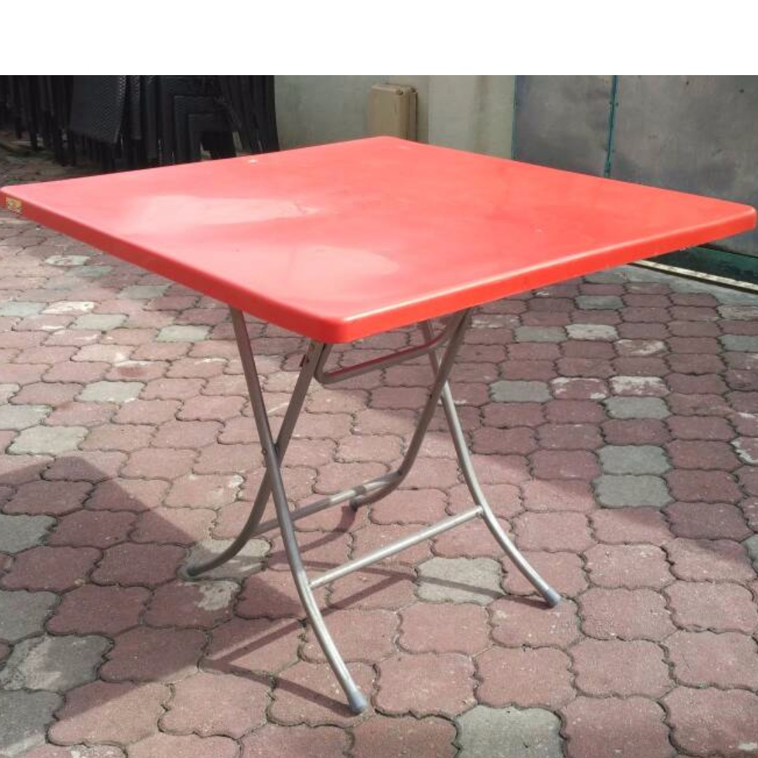 Height Adjule Eco Friendly Children Square Plastic Table Red The Best 2018