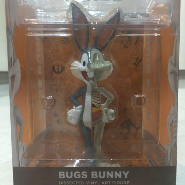 "Mighty Jaxx XXRAY Looney Tunes 4/"" Bugs Bunny"