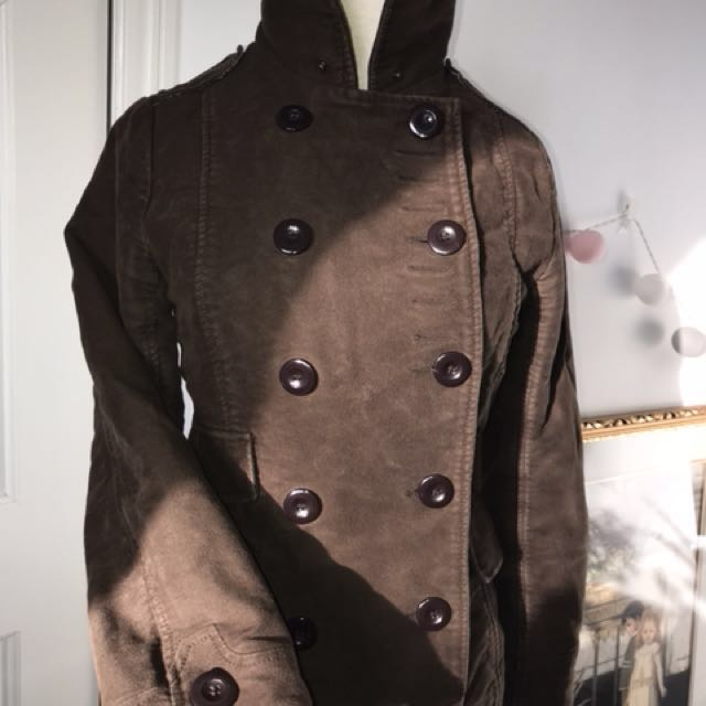 Military Style Coat by Spiewak