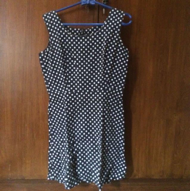 Mini dress polkadot