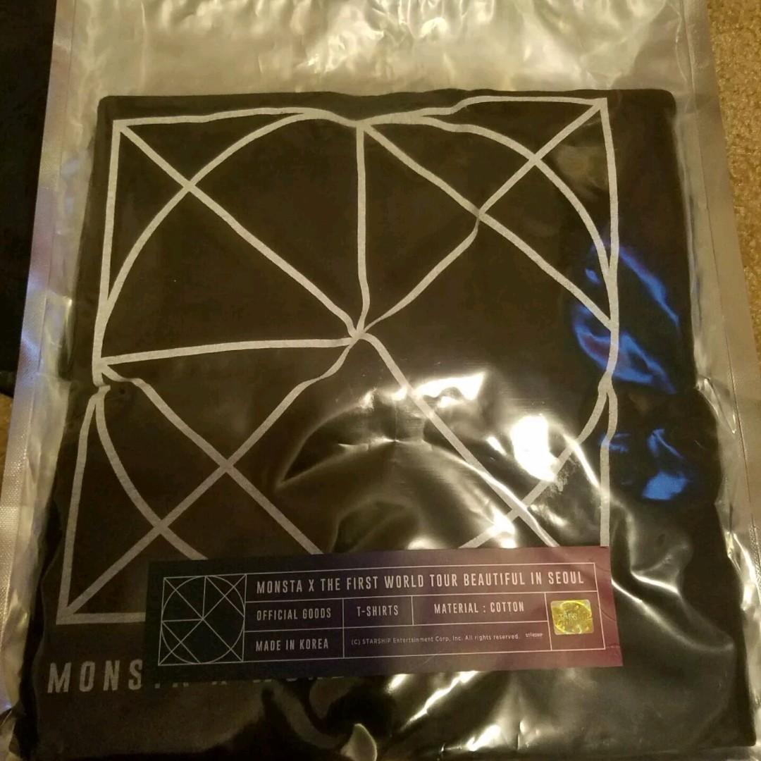MonstaX Official Beautiful in Tour Shirt Monbebe