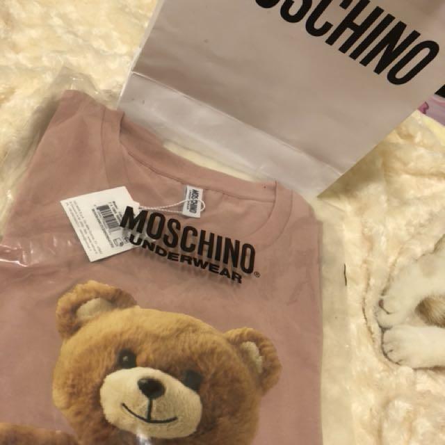 Moschino 粉色上衣s號