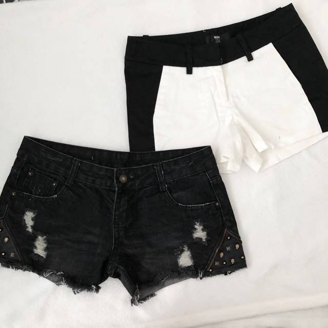 Mossimo + Lace shorts