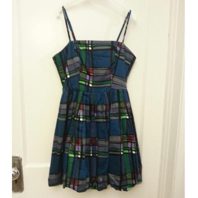 Multi-colour Geometric Dress