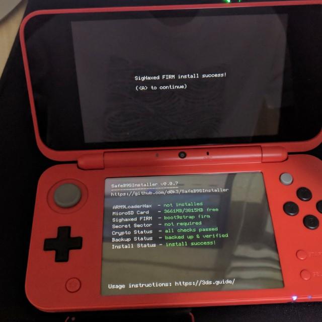 New 2DSXL Pokéball Red Edition