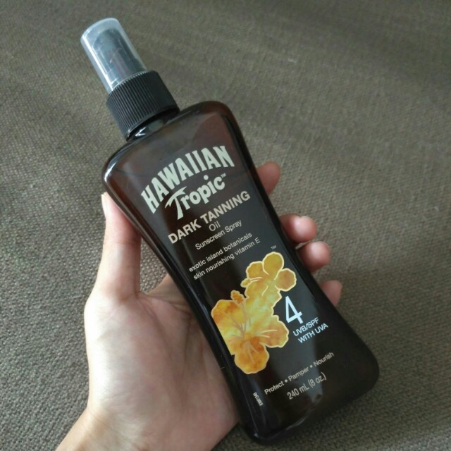 [NEW] Hawaiian Tropic Dark Tanning Oil Spray