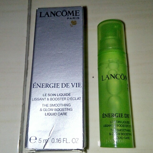 NEW Lancome Energie De Vie for Oily Skin (TRAVEL/MINI size)