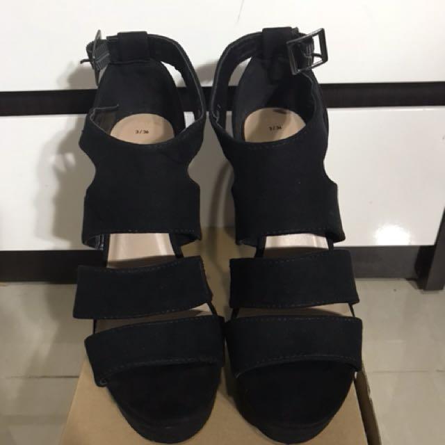 New look strap heels
