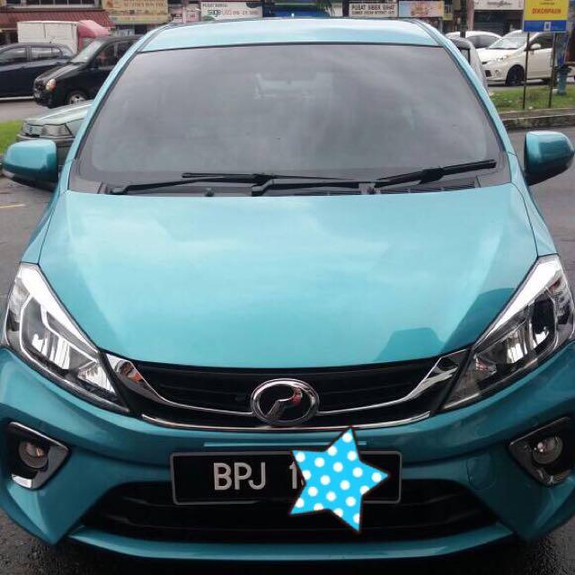 New Perodua Myvi