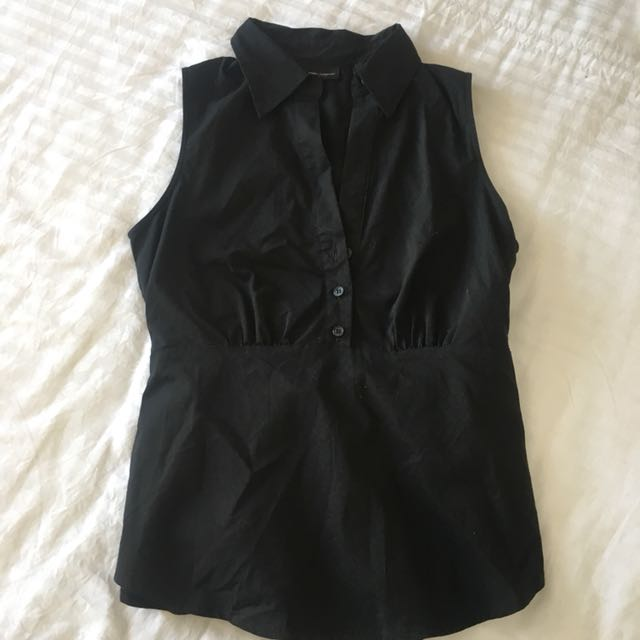 New york company - black blouse
