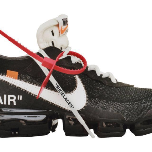 Nike offwhite the ten vapourmax us 8.5