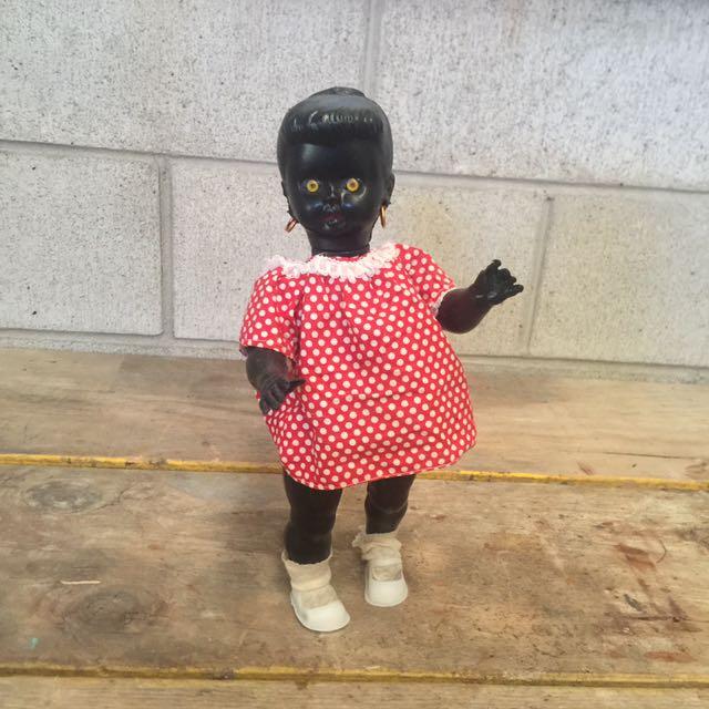 Non Pc black doll