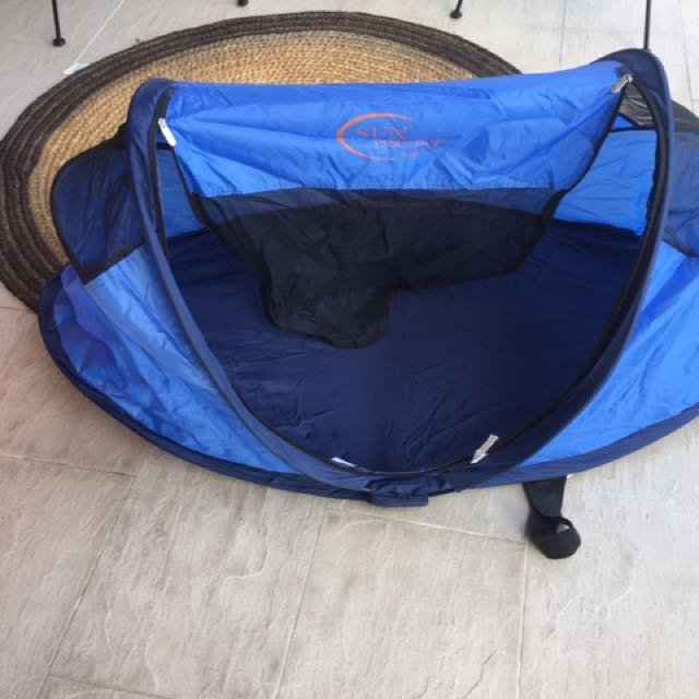 photo photo ... & Nscessity Sun Tent / Travel Cot Babies u0026 Kids Others on Carousell