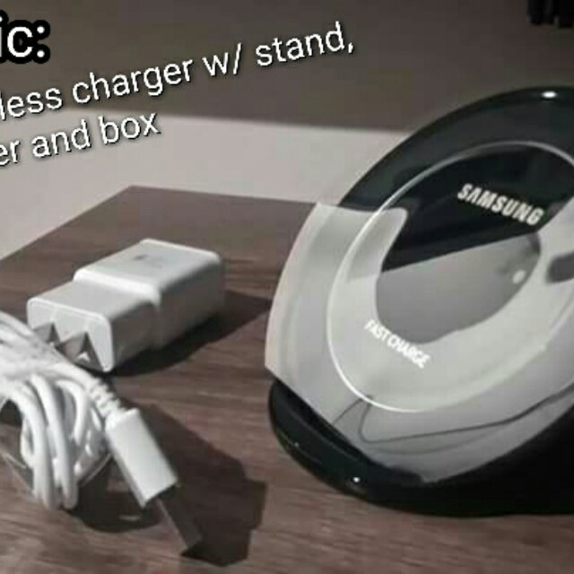 Original Samsung Fast Wireless Charger with Stand