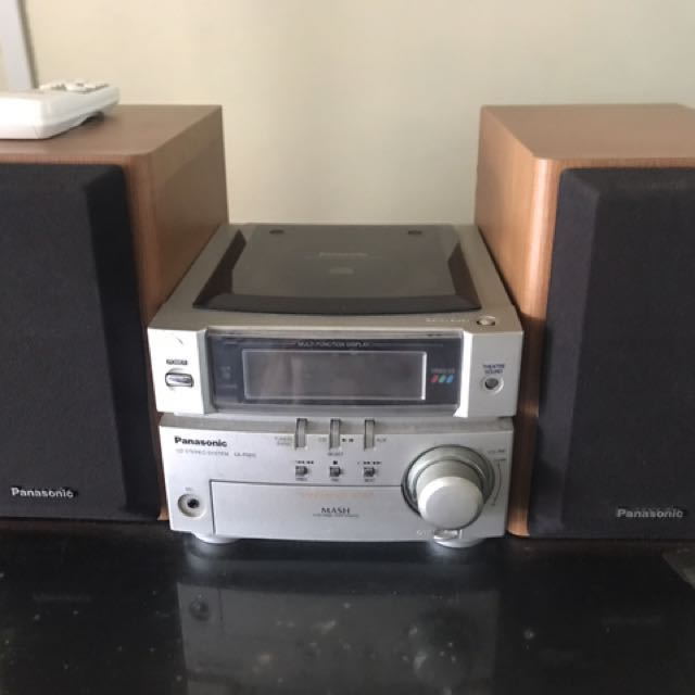 PANASONIC CD STEREO SYSTEM SA PM05 Electronics Audio On Carousell