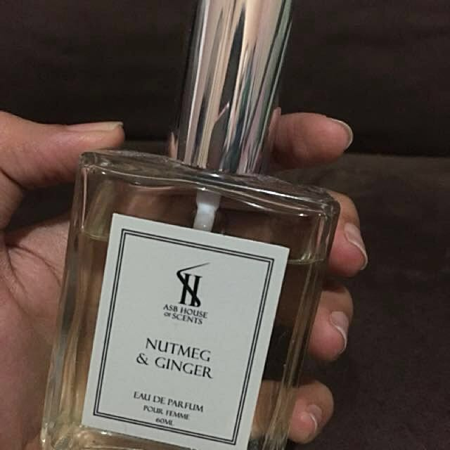 Perfume Nutmeg and Ginger EAU DE PARFUM with free purse!