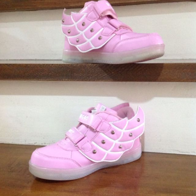 Pink LED shoes (for Kids)