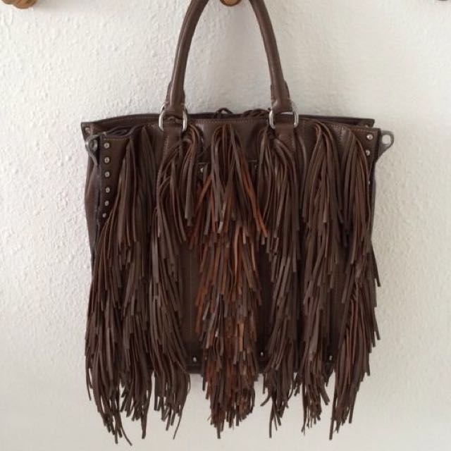 4c80d93e69 Prada Noce Nappa Leather Fringe Bag BN1509, Luxury, Bags & Wallets ...