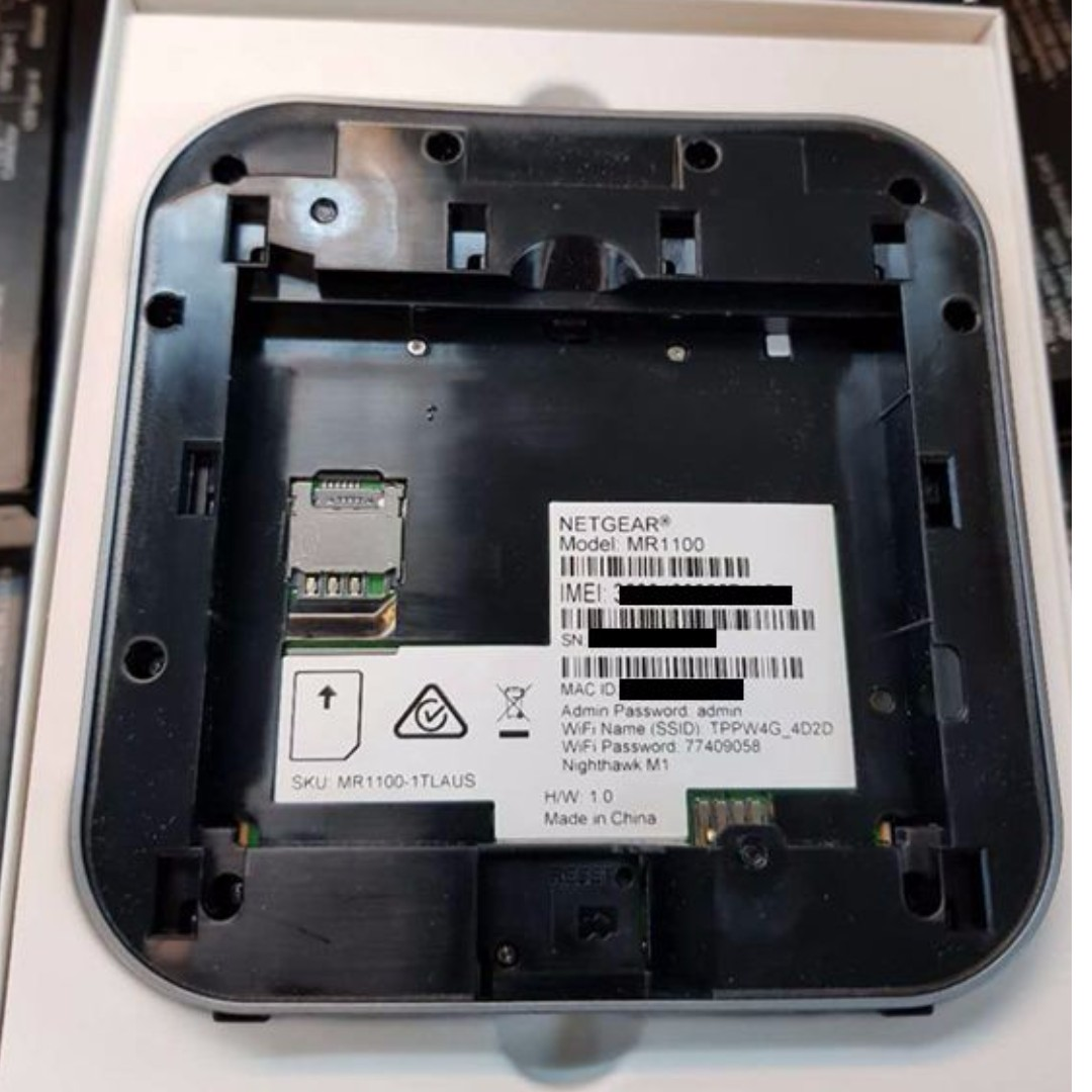 Preorder] Netgear Nighthawk M1 MR1100 Unlocked MIFI LTE 4G