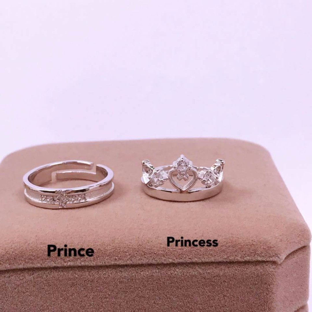 PRINCE AND PRINCESS CROWN RING, Online Shop & Preorder, Preorder ...
