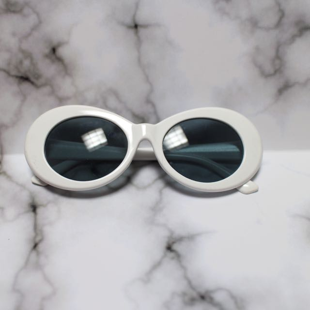 Retro White Glasses