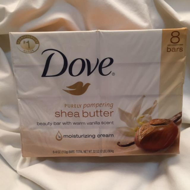 Sale Dove Shea Butter Soap (8 bars)