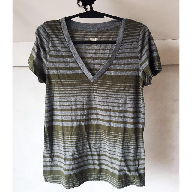 SALE!!! Mossimo Supply Co. Basic Striped Shirt