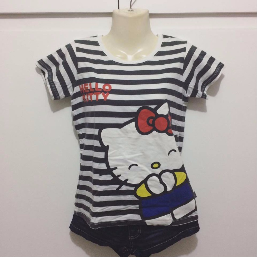 Sanrio Hello Kitty Striped Shirt