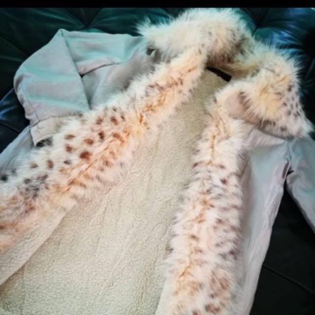 Sisley Parka With Detachable Fur Trim