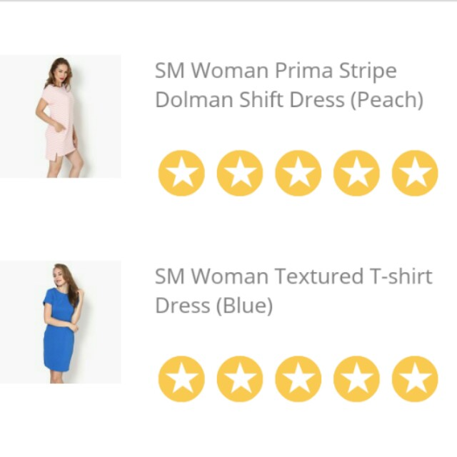 Take all 4 Dresses SM Woman