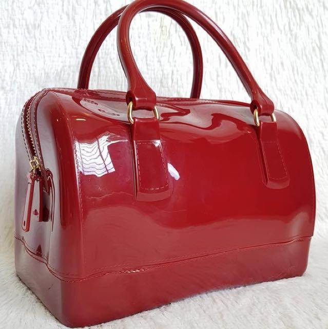 Speedy 26cm Jelly bag in glossy sangria