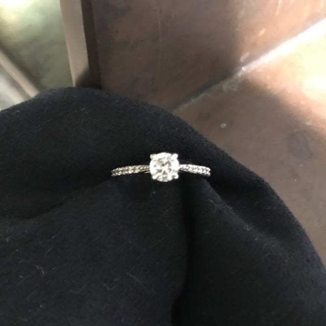Sterling Silver/Cubic Zirconia Ring