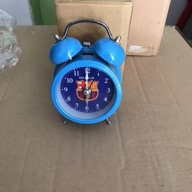 Stylish Compact Barcelona Clock
