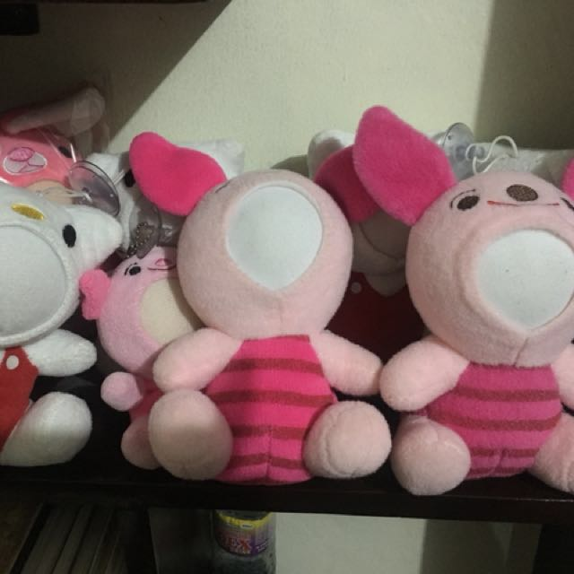 Take all Plush/Stuffed toys 2 pairs of piglet