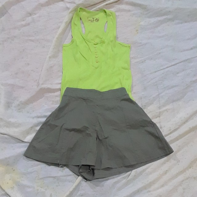 Tank top and Skort Set