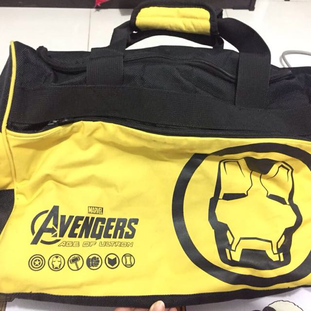 Tas Golds gym avengers edition