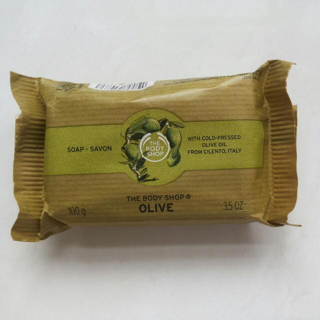 THE BODY SHOP OLIVE sabun mandi