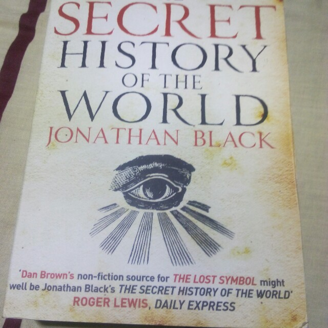 The Secret History of the World by Jonathan Black on Carousell