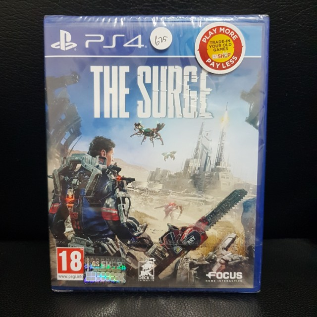 THE SURGE PS4 GAME BRAND NEW