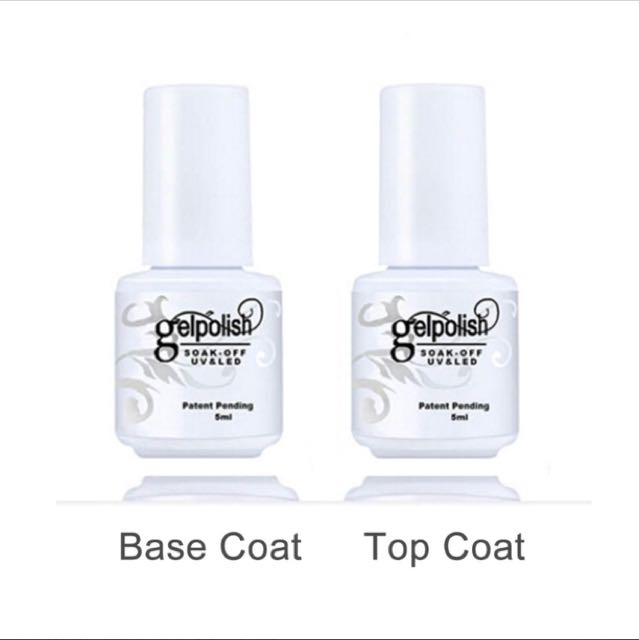 Top coat + Base coat for gel nails