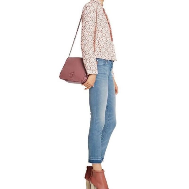 tory burch marion small flap shoulder
